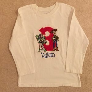 Toy Story long sleeve t-shirt size 4T